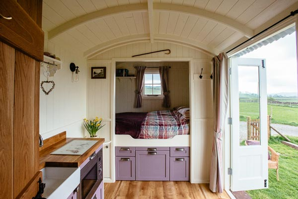 Yorkshire Dales Shepherds Hut
