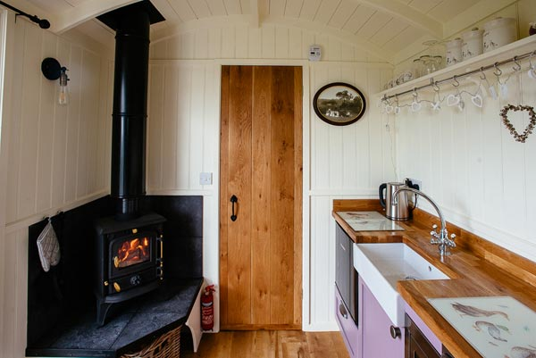 Shepherds Hut Woodburner